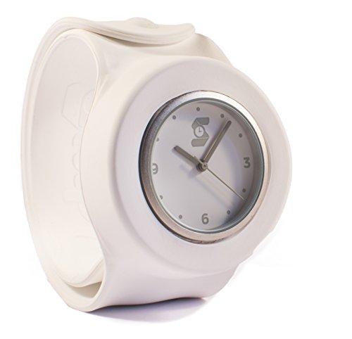 Das Original weiss slappie Slap Uhr Erwachsene Large