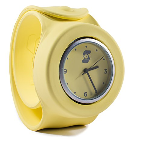 Die original gelb slappie Slap Uhr Erwachsene Large