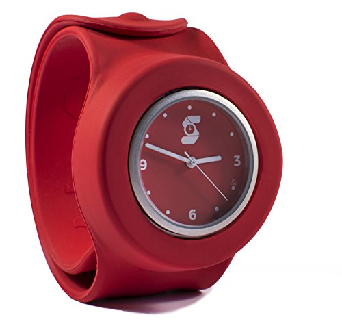 Die original rot slappie Slap Uhr Erwachsene Large