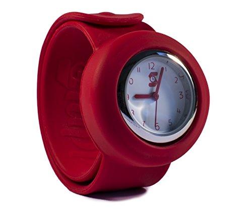 Die original slappie rot Slap Uhr Kinder und kleine Erwachsene BBC Dragon s Den Winner 2016