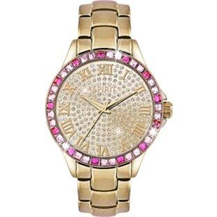 Spirit Lux WomenASPL90X Armband Armbanduhr Analog Gold