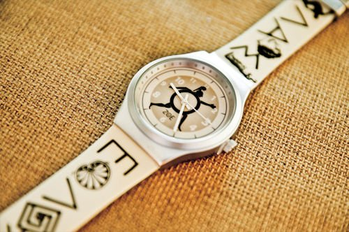 Greek Symbols Watch
