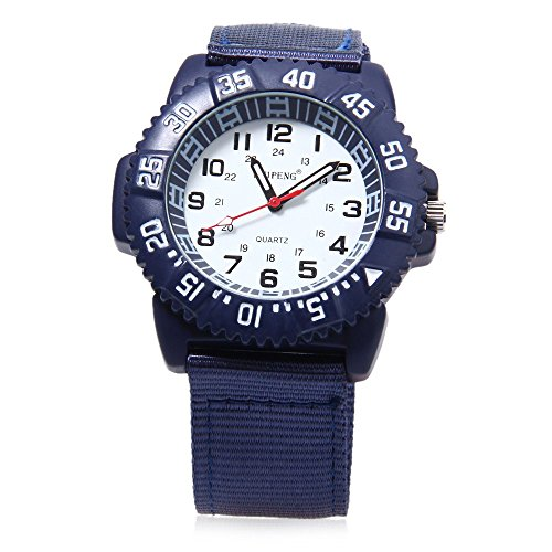 Leopard Shop Weipeng Unisex Quarzuhr Luminous Doppelskala arabischen Zahlen Wasser Widerstand Armbanduhr 3