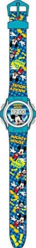 Disney Jungen Mickey Mouse Sport Armbanduhr Digital Uhr mit Zeit und Datum