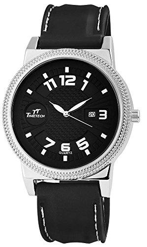 TimeTech Analog Silikon 49 mm Schwarz 227621300007