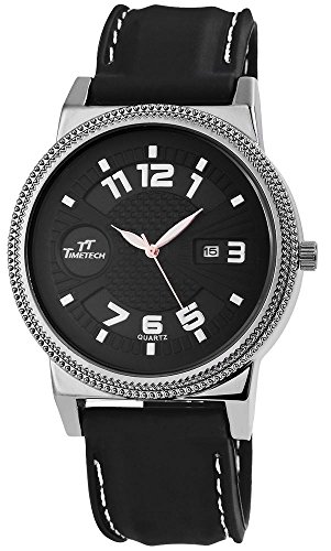 TimeTech Analog Silikon 49 mm Anthrazit Schwarz 227671000007