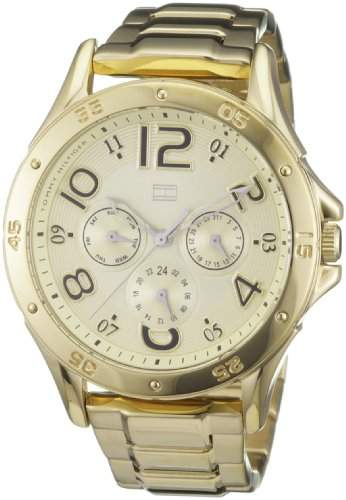 Tommy Hilfiger Damen-Armbanduhr Cool Sport Analog Edelstahl beschichtet 1781172