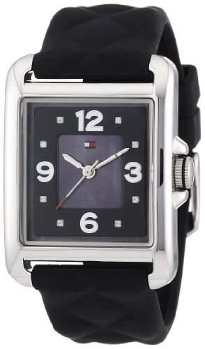 Tommy Hilfiger Damen-Armbanduhr Sport Luxury Analog Quarz Silikon 1781244