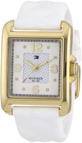 Tommy Hilfiger Damen-Armbanduhr Sport Luxury Analog Quarz Silikon 1781246