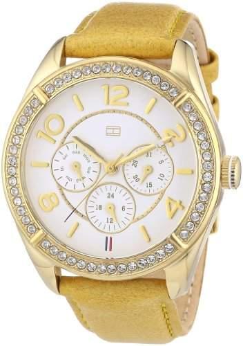 Tommy Hilfiger Damen-Armbanduhr Sport Luxury Analog Quarz Leder 1781250