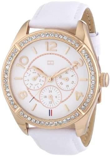Tommy Hilfiger Damen-Armbanduhr Sport Luxury Analog Quarz Leder 1781251