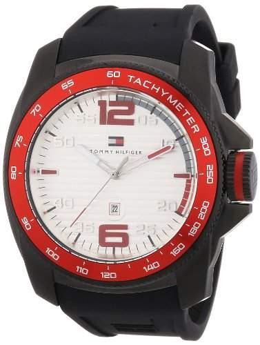 Tommy Hilfiger Herren-Armbanduhr Cool Sport XL Analog Quarz Silikon 1790854