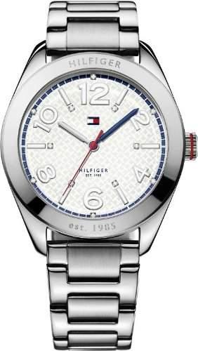 Tommy Hilfiger Damen-Armbanduhr Casual Sport Analog Quarz Edelstahl 1770007