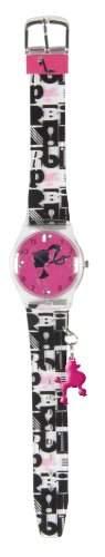 Barbie Maedchen-Armbanduhr Analog Plastik rosa 25094