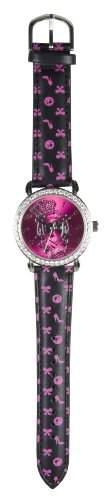 Barbie Maedchen-Armbanduhr Analog Formgehaeuse rosa 25103IL