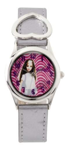 Barbie Maedchen-Armbanduhr Analog Quarz Plastik B602
