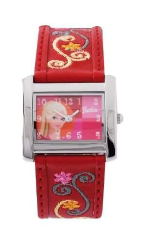 Barbie Maedchen-Armbanduhr Analog Quarz Plastik B663