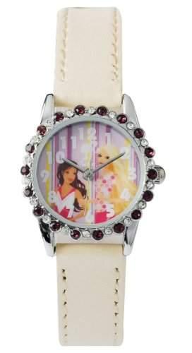 Barbie Maedchen-Armbanduhr Analog Quarz Plastik B683