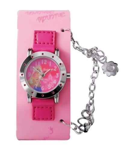 Barbie Maedchen-Armbanduhr Analog Quarz Plastik B712