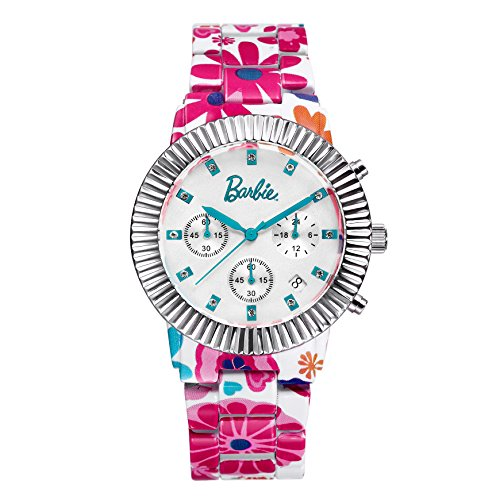 Barbie dekorativer Armband Legierung Armbanduhr Quarz Chronograph Analog Uhr W50316L 02A