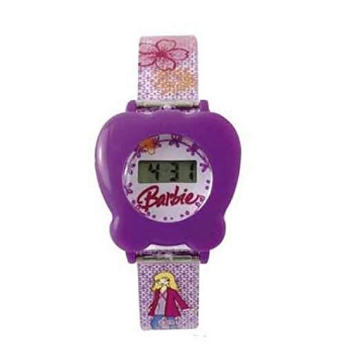 Barbie - BM-WR01 - digitale Maedchenuhr mit Blumenmotiv