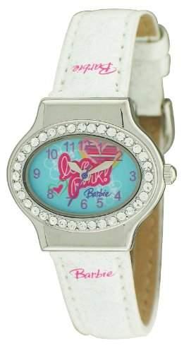 Barbie Maedchen-Armbanduhr Analog Quarz Plastik BW003A