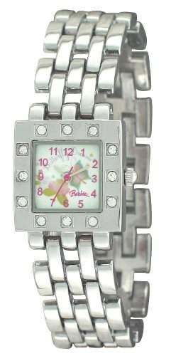 Barbie Maedchen-Armbanduhr Analog Quarz Plastik BW006A