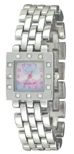 Barbie Maedchen-Armbanduhr Analog Quarz Plastik BW006C
