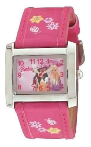 Barbie Maedchen-Armbanduhr Analog Quarz Plastik BW007C