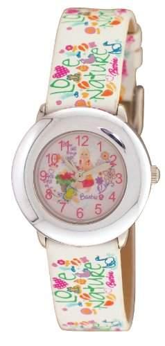 Barbie Maedchen-Armbanduhr Analog Quarz Plastik BW008B