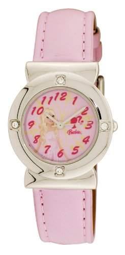 Barbie Maedchen-Armbanduhr Analog Quarz Plastik BWR224