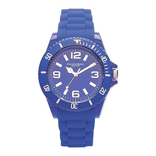 Cannibal Unisex Armbanduhr Analog Silikon blau CJ209 05
