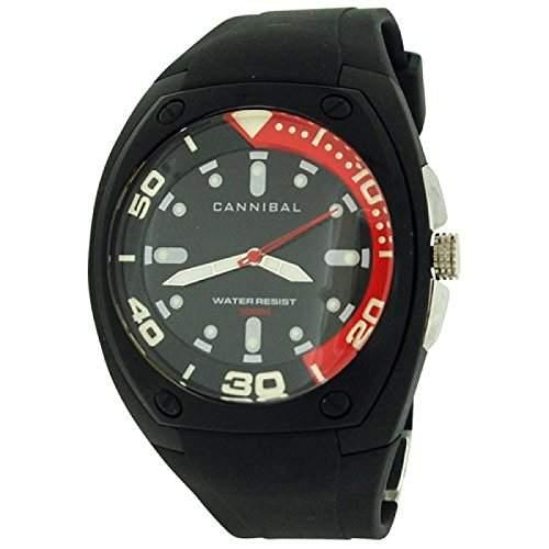 Cannibal Jungen-Armbanduhr Analog Kunststoff schwarz CJ187-03