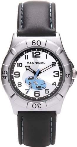 Cannibal Unisex-Armbanduhr Analog Formgehaeuse weiss CJ192-05