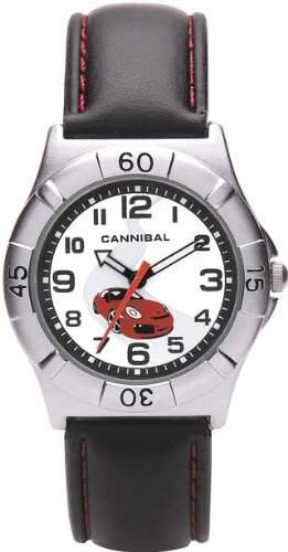 Cannibal Unisex-Armbanduhr Analog Formgehaeuse weiss CJ192-06