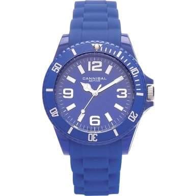 Cannibal Unisex-Armbanduhr Analog Silikon blau CJ209-05