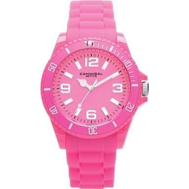 Cannibal Unisex-Armbanduhr Analog Silikon pink CJ209-15