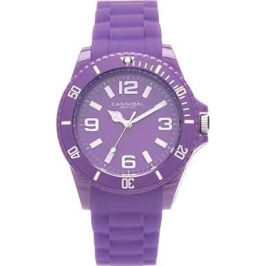 Cannibal Unisex-Armbanduhr Analog Silikon violett CJ209-16