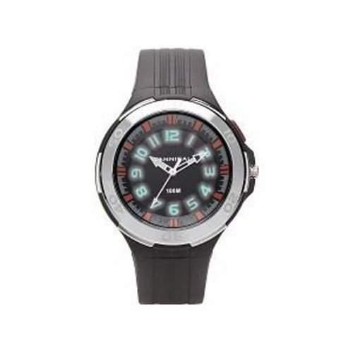 Cannibal Unisex-Armbanduhr Analog Kunststoff schwarz CJ211-03