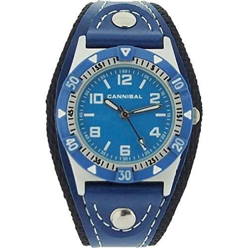 Cannibal Unisex-Armbanduhr Analog plastik blau CK087-04