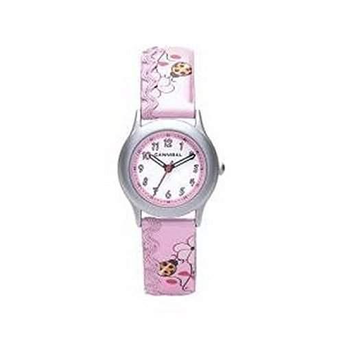 Cannibal Maedchen-Armbanduhr Analog Kunststoff pink CK176-14