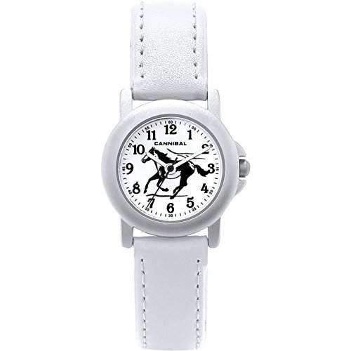 Cannibal Maedchen-Armbanduhr Analog Kunststoff weiss CK193-01