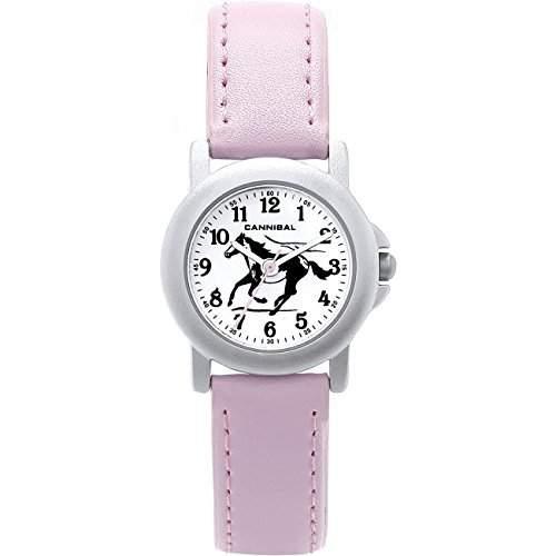 Cannibal Maedchen-Armbanduhr Analog Kunststoff pink CK193-14