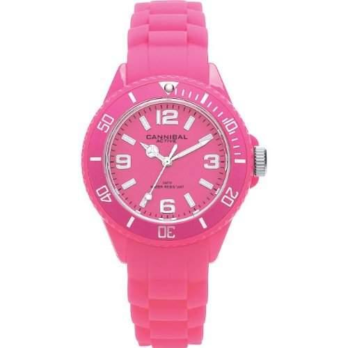 Cannibal Unisex-Armbanduhr Analog Silikon pink CK215-15