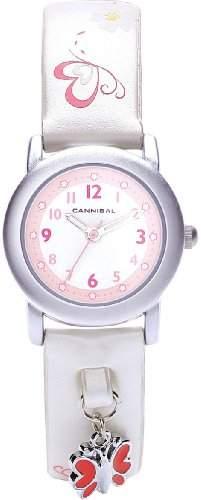 Cannibal Kinder-Armbanduhr Analog plastik weiss CK225-01