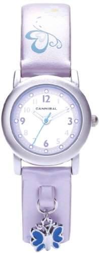 Cannibal Unisex-Armbanduhr Analog Kunststoff violett CK225-16