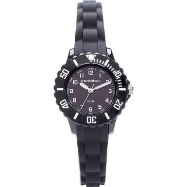 Cannibal Unisex-Armbanduhr Analog Silikon schwarz CK226-03