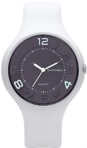 Cannibal Damen-Armbanduhr Analog Resin Weiss CL229-01