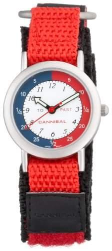 Cannibal Damen-Armbanduhr Lernuhr Quarz Kunststoff CT003-06