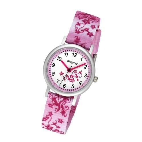 ZEEme Watches Unisex-Armbanduhr Analog Quarz Textil 095000038